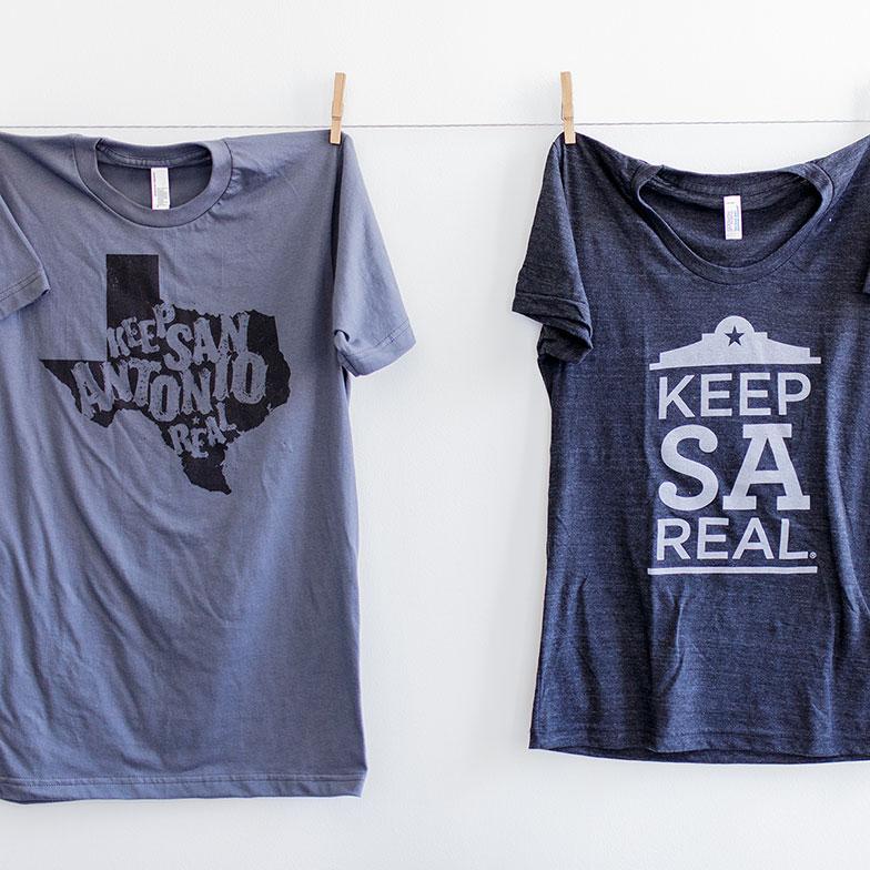 Keep SA Real T-shirts by Heavy Heavy
