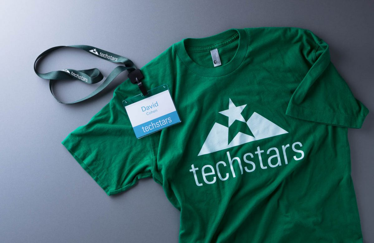 Techstars T-shirt & Lanyard by Heavy Heavy