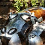 Hippo Sculpture at the San Antonio Zoo