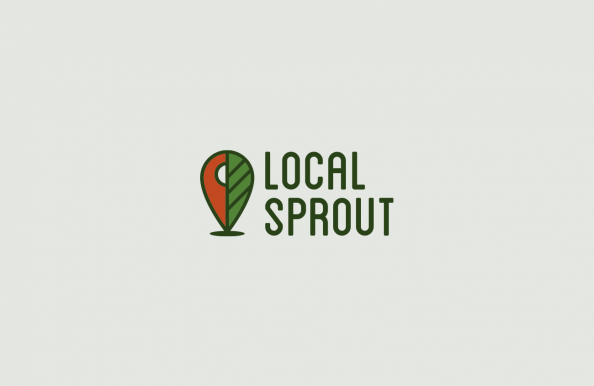 Local Sprout Logo by Heavy Heavy