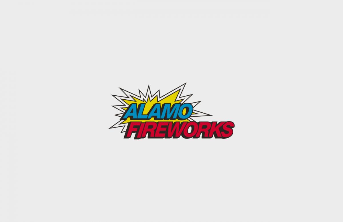 Alamo Fireworks Logo by Heavy Heavy