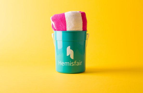 Hemisfair Rebrand Collateral